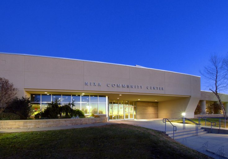 The Nixa Community Center (The X Center) is the home base for the Nixa Parks and Recreation Department.  It is located on a 40 acre park (McCauley Park) that offers a host of outdoor activities such as a playground, 18-hole disc golf course, soccer fields, walking path, and seasonal restrooms. The X Center offers a full line fitness center, multipurpose gymnasium, indoor walking track, meeting rooms, and so much more.  The X Center offers community-focused, high-quality, affordable memberships, youth sports, and enrichment programs for the community.  For a full list of program offerings and other parks, click here